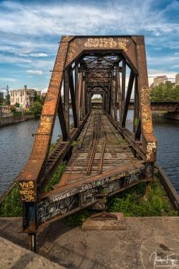 Vieux pont tournant du Canal de Lachine