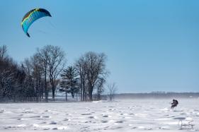 Le vent dans les voiles... l'hiver